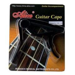 Alice A007D/BK-A Каподастр для акустической гитары