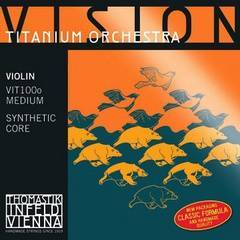 Thomastik VIT100o Vision Titanium Orchestra Комплект струн для скрипки 4/4