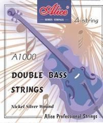 Alice A1000-4/4 Комплект струн для контрабаса