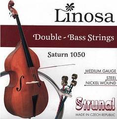Strunal 1050-4/4 Saturn Linosa Комплект струн для контрабаса