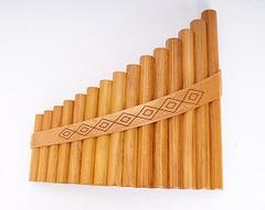 Hora 15-alto Пан-флейта 15 трубок альт g1-g3