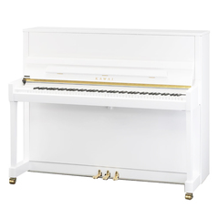 Kawai K-300 WH/P Пианино, белое полированное