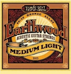 Ernie Ball 2003 струны для акустической гитары