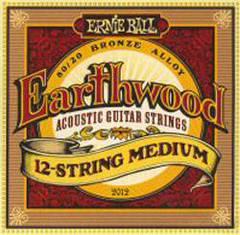 Ernie Ball 2012 струны для 12-струнной гитары