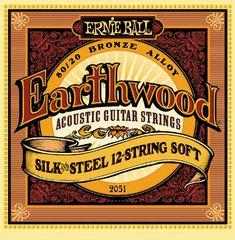 Ernie Ball 2051 струны для 12-струнной гитары