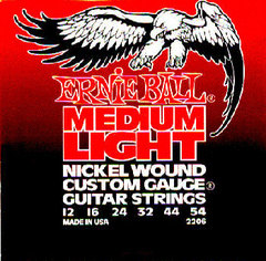 Ernie Ball 2206 струны для электрогитары