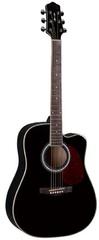 Naranda DG220CBK Акустическая гитара с вырезом