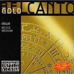 Thomastik BC31G Belcanto Gold Комплект струн для виолончели размером 4/4