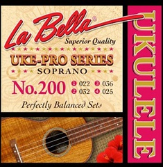 La Bella 200 Uke-Pro Комплект струн для укулеле сопрано