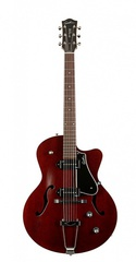 Godin 5th Avenue CW Kingpin II Burgundy Электрогитара арктоп, с чехлом