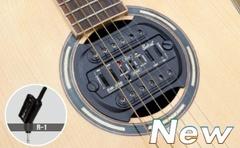 Belcat SW-400 Звукосниматель для акустической гитары, в резонаторное отверстие, беспроводной
