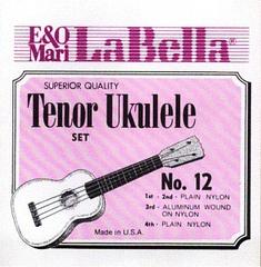 La Bella 12-TENOR Комплект струн для укулеле тенор