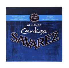 Savarez 510AJ Alliance Cantiga Комплект струн для классической гитары, сильное натяжение, посеребренные