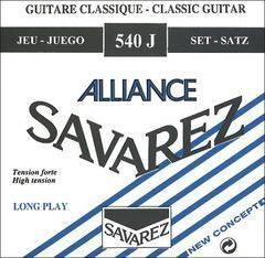 Savarez 540J Alliance HT Classic Комплект струн для классической гитары, сильное натяжение, посеребренные