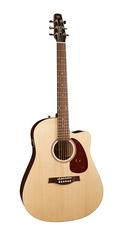 Seagull Coastline S6 SLIM CW Spruce QIT Электро-акустическая гитара, с чехлом, узкий гриф