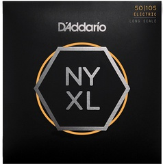 D'Addario NYXL50105 NYXL Комплект струн для бас-гитары, Long Scale, Medium, 50-105