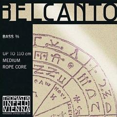 Thomastik BC600S Belcanto Solo Комплект струн для контрабаса размером 3/4