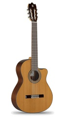 Alhambra 6.855 Cutaway 3C CW E1 Классическая гитара со звукоснимателем