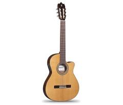 Alhambra 6.856 Cutaway 3C CT Классическая гитара тонкая со звукоснимателем, с вырезом