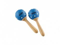 Nino Percussion NINO7PD-B Маракасы деревянные, малые, синие