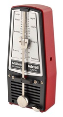 Wittner 824 Taktell-Junior Метроном механический, пластик, рубиновый, без звоночка