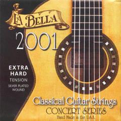 La Bella 2001EH 2001 Extra Hard Tension Комплект струн для классической гитары