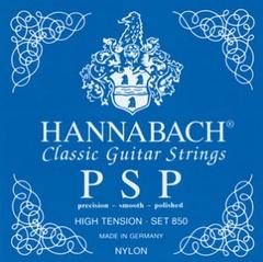 Hannabach 850HT Blue PSP Комплект струн для классической гитары нейлон/посеребренные