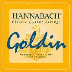 Hannabach 725MHT GOLDIN Комплект струн для классической гитары, карбон/голдин