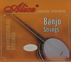 Alice AJ04 Комплект струн для банджо, сталь/медь