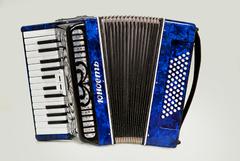 Шуйская гармонь AK22-BL Аккордеон «Юность» 26х60-II, синий