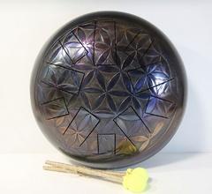 Мастерская Алатырь AL30-CP-FL Глюкофон 30см Цветок Жизни - Pentatonic Major 440гц
