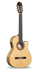 Alhambra 6.770 Flamenco Conservatory 7FC CW E8 Классическая гитара со звукоснимателем, с вырезом