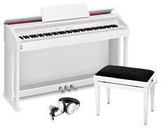 Casio AP-460WE PROFI SET Цифровое пианино + Банкетка + Наушники