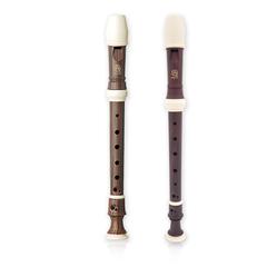 Angel AWR-SW(B) Wood Grain Блокфлейта сопрано, барочная система, коричневая, 3 части
