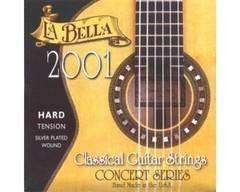 La Bella 2001H 2001 Hard Tension Комплект струн для классической гитары