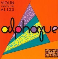 Thomastik AL100 Alphayue Комплект струн для скрипки размером 4/4, среднее натяжение