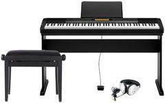 Casio CDP-230 PREMIUM SET Цифровое пианино + Деревянная стойка + Банкетка + Наушники