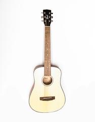 Cort AD-mini-OP Standard Series Акустическая гитара 3/4, с чехлом, натуральный