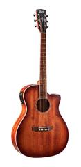 Cort GA-MEDX-M-OP Grand Regal Series Электро-акустическая гитара, цвет натуральный