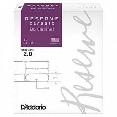 Rico DCT1020 Reserve Classic Трости для кларнета Bb