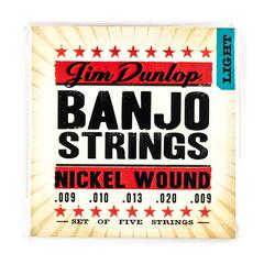 Dunlop DJN0920 Комплект струн для 5-струнного банджо, никель, 9-20