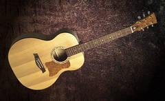 Doff J Акустическая 6-и струнная гитара Джамбо