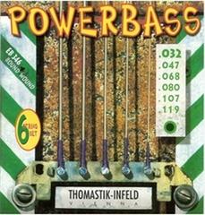 Thomastik EB346 Power Bass Комплект струн для 6-струнной бас-гитары, Medium Light, 32-119