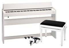 Roland F-140R-WH Цифровое пианино + Банкетка + Наушники