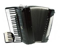 Aurus JH2001-B 41/120/11/7 аккордеон, черный, с футляром