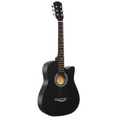 Fante FNT-D38-BK Акустическая гитара, с вырезом, черная