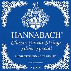 Hannabach 815HT Blue SILVER SPECIAL Комплект струн для классической гитары нейлон/посеребренные