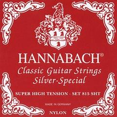 Hannabach 815SHT Red SILVER SPECIAL Комплект струн для классической гитары нейлон/посеребренные