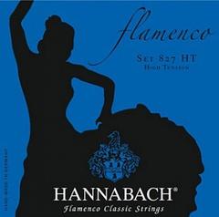 Hannabach 827HT Blue FLAMENCO Комплект струн для классической гитары желтый нейлон/посеребренные