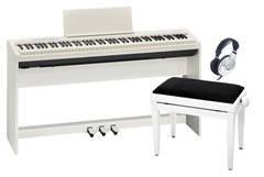 Roland FP-30WH DELUXE SET Пианино + Блок педалей + Стойка + Банкетка + Наушники